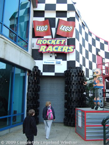 completely legoland windsor the beginning rocket racers. Black Bedroom Furniture Sets. Home Design Ideas